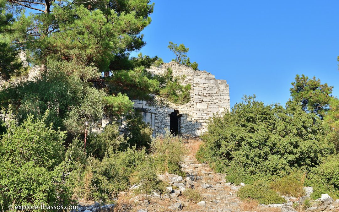 Acropolis of Limenas – Made from Thassos marble