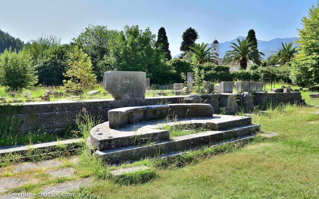 Ancient Agora – The political center of Thassos town