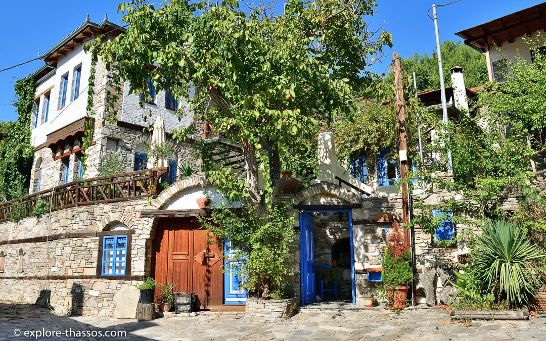 Kazavitia – A village with a beautiful view