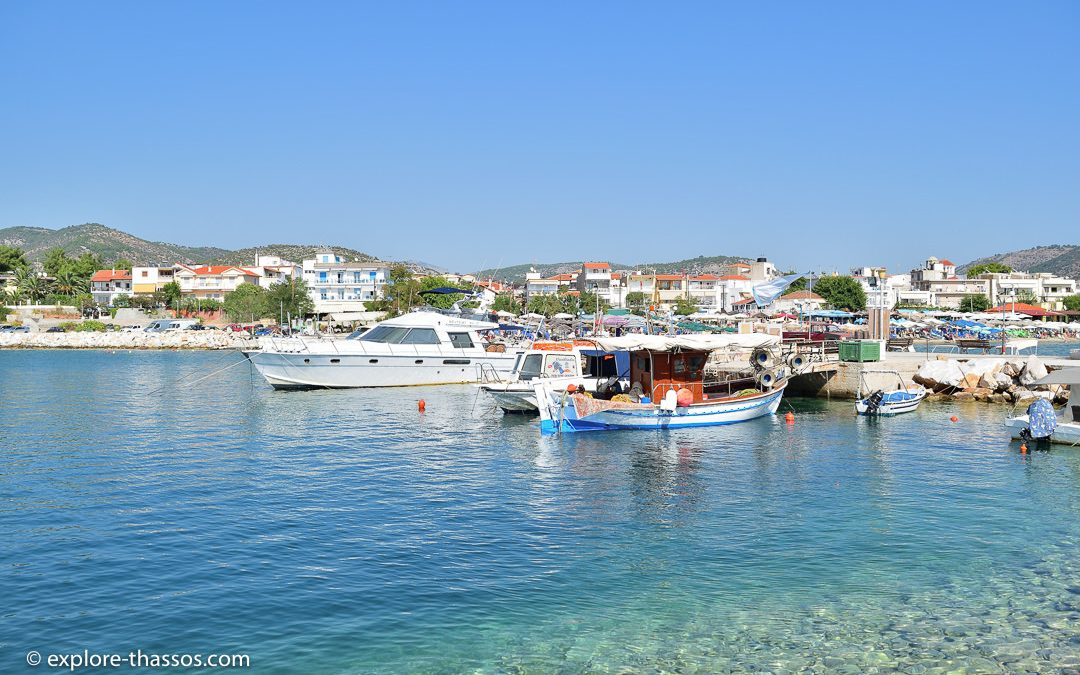 Potos – The second seaport of Thassos